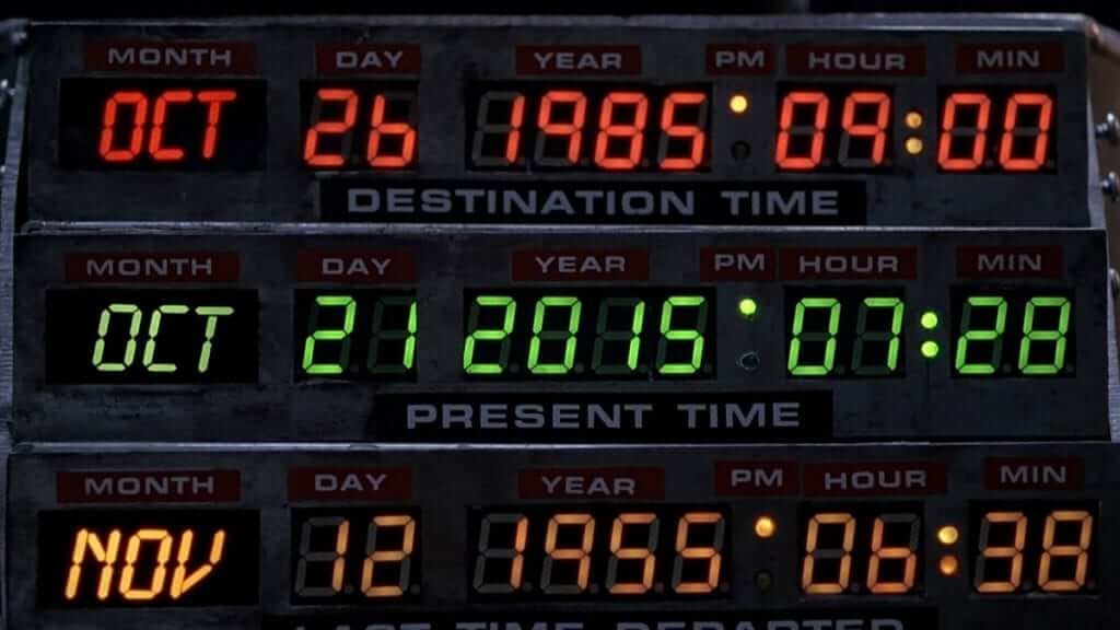 Back To The Future Day Is Here
