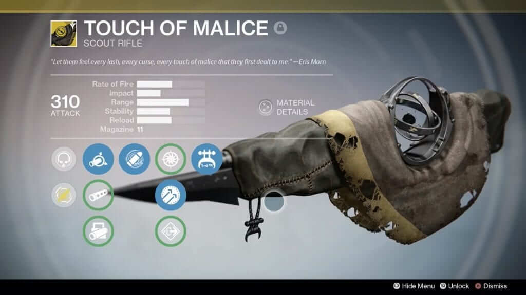 Destiny: Touch of Malice Quest Guide