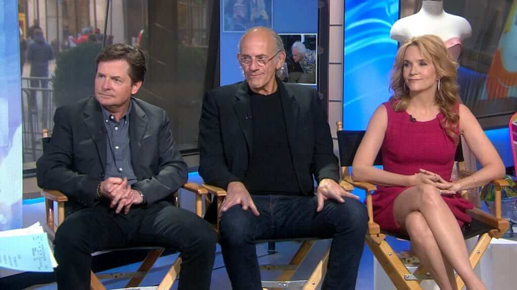 The Back To The Future Cast Reunite On Today Show