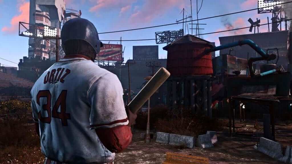 Major League Baseball Condemns Fallout 4 Mod