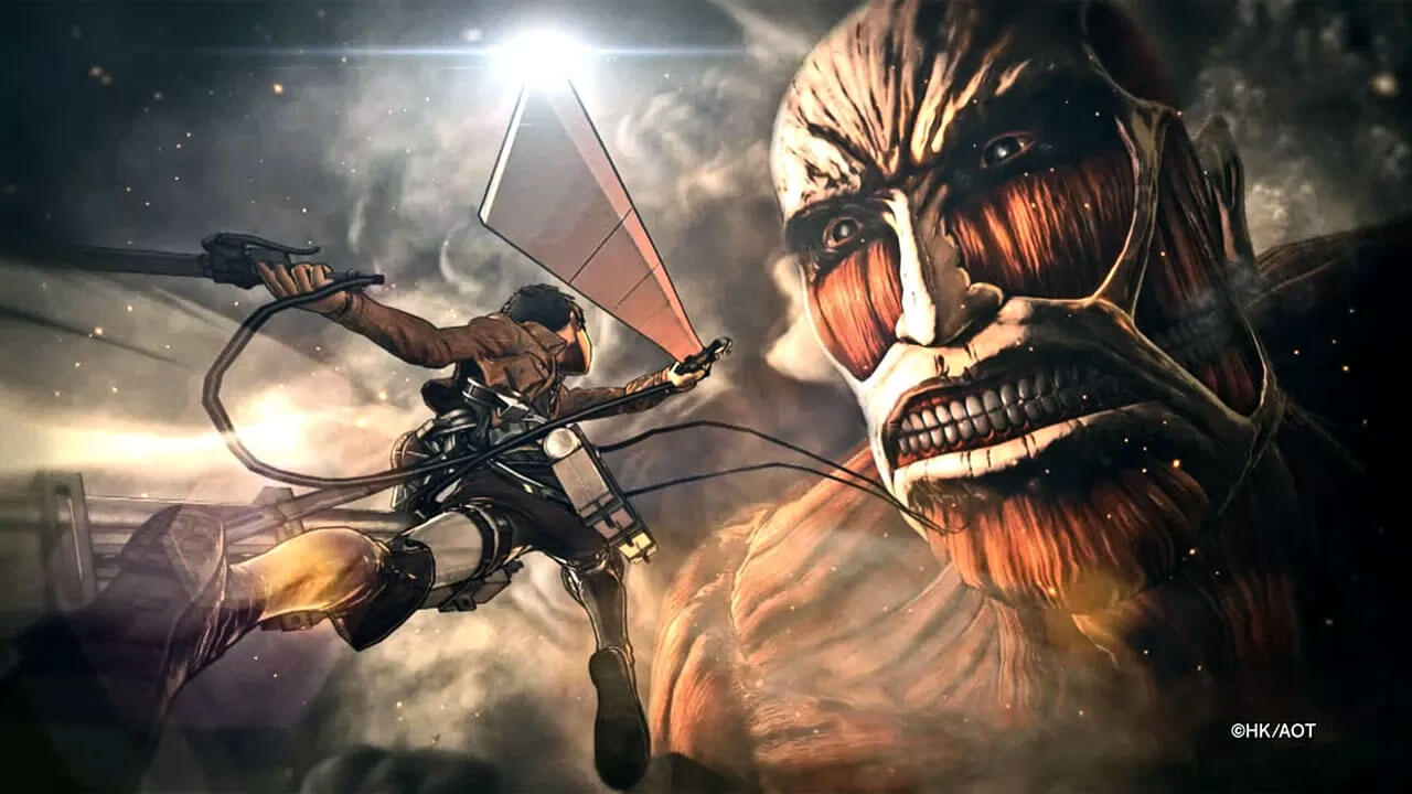 New Footage Released for Attack on Titan Game