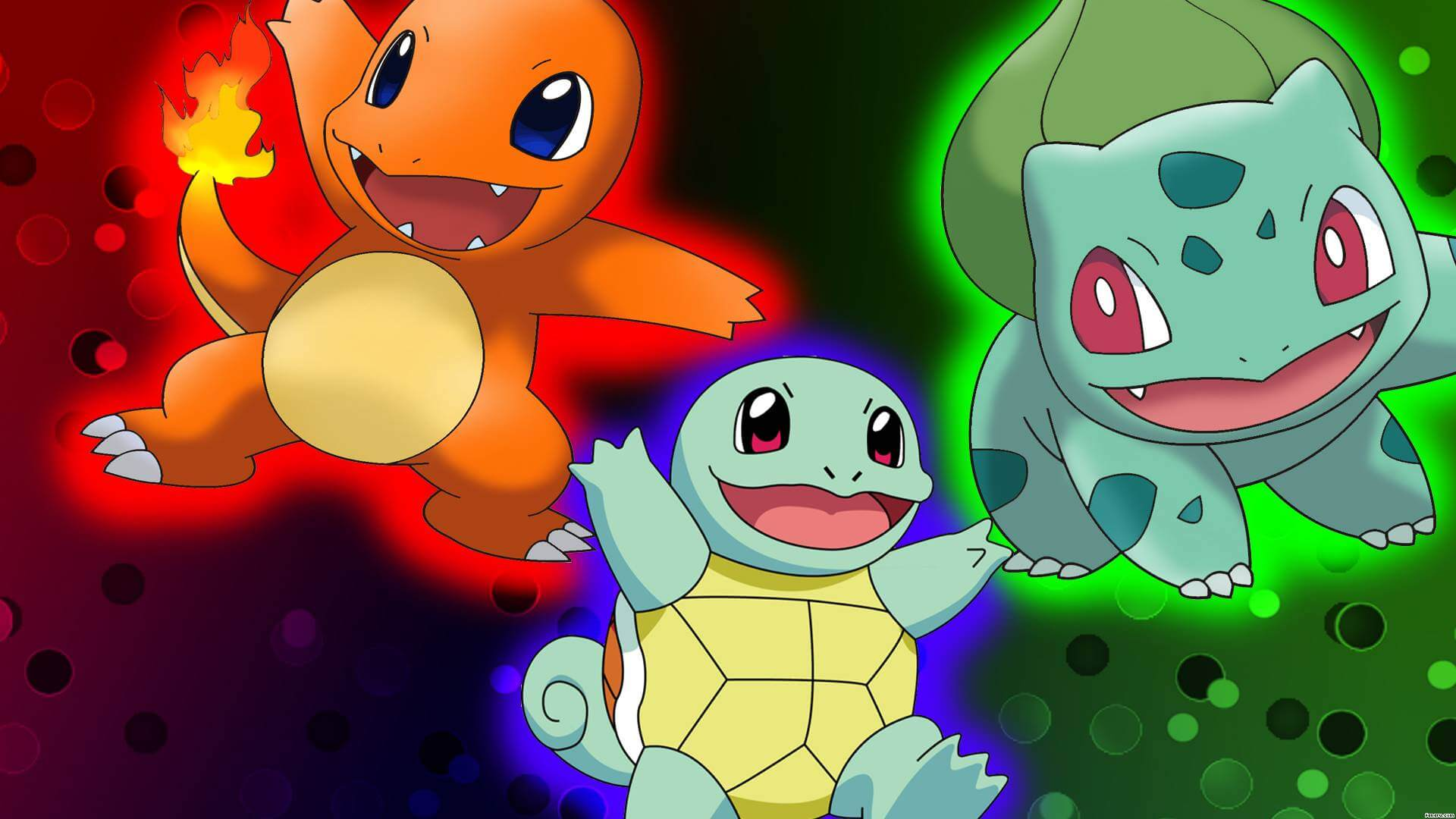 Pokemon Red, Blue and Yellow For 3DS