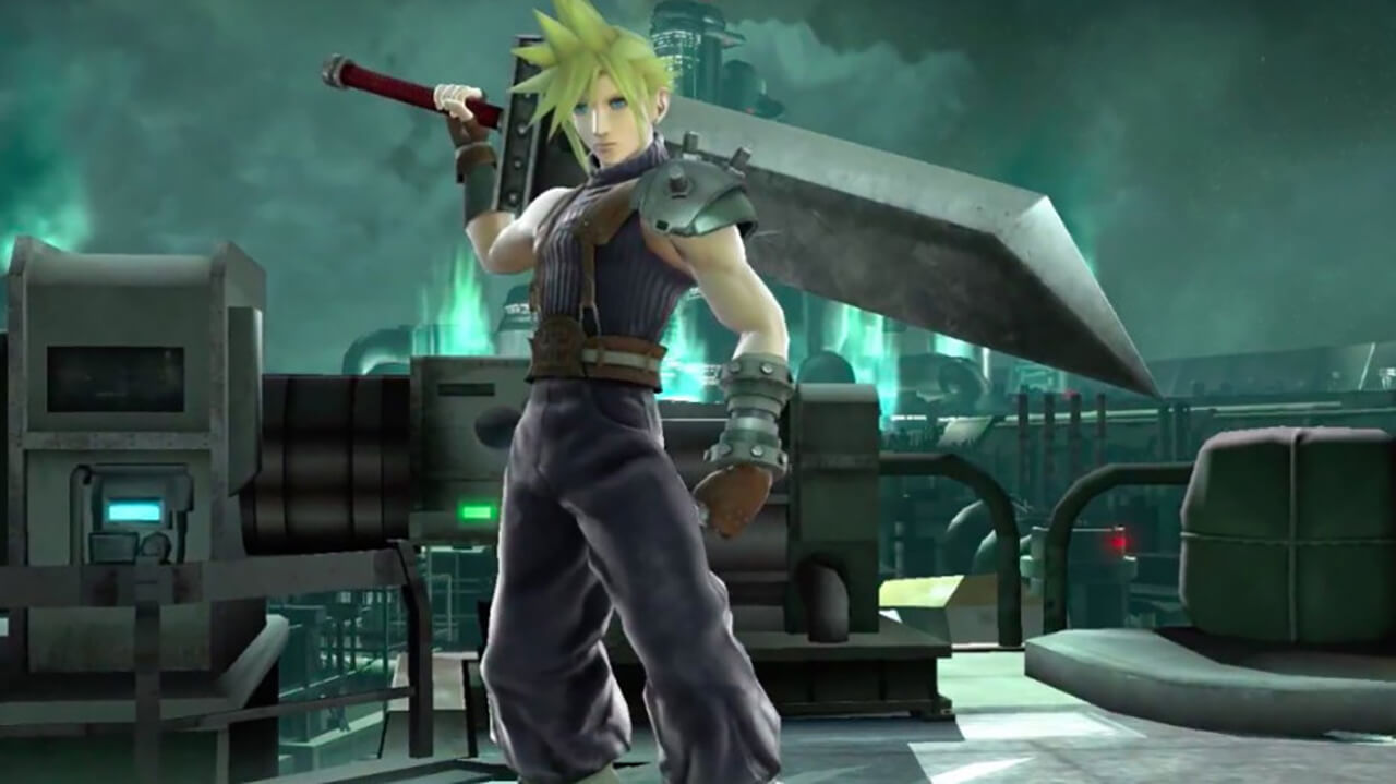 Cloud Strife Coming to Super Smash Bros.