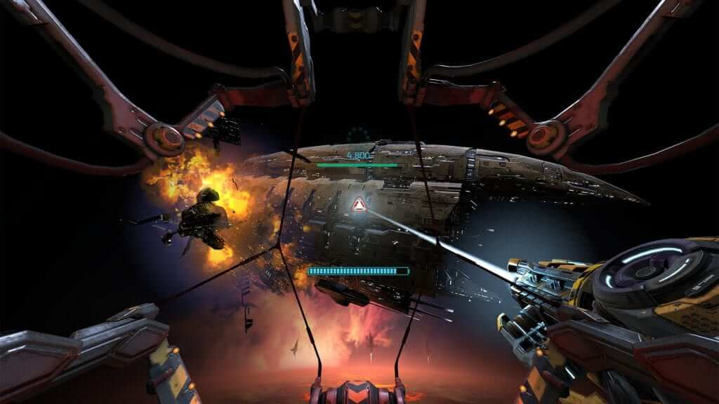 EVE Online Announce VR Game: Gunjack