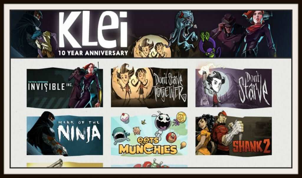 Klei Entertainment Free Weekend on Steam