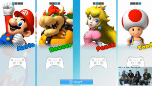 """""""No cheating-a, Bowser!"""" """"No promises, mustache-face!"""""""