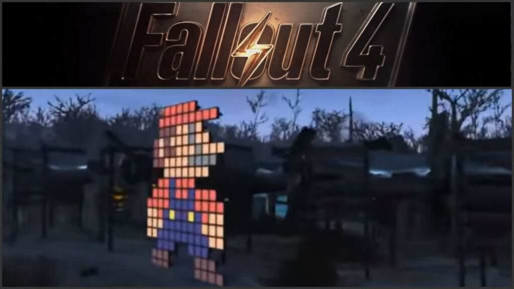 Super Mario Theme Played in Fallout 4