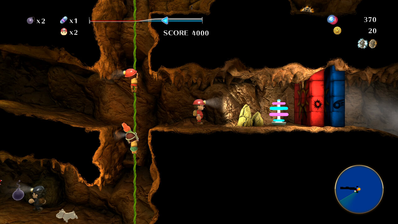 Spelunker World Out for PlayStation 4