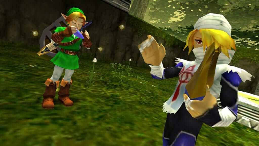 Ocarina of Time Beaten Blindfolded