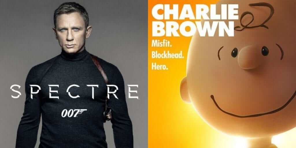 Spectre and Peanuts Tops US Box Office Again
