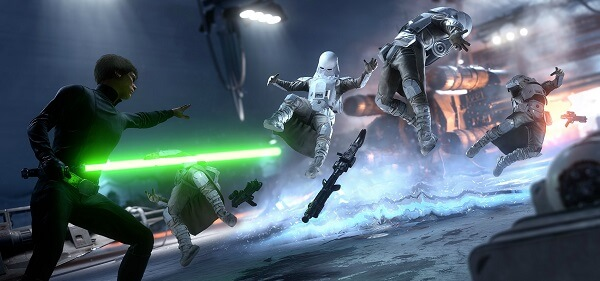 Play as Luke Skywalker and take on the Empire in Star Wars Battlefront.
