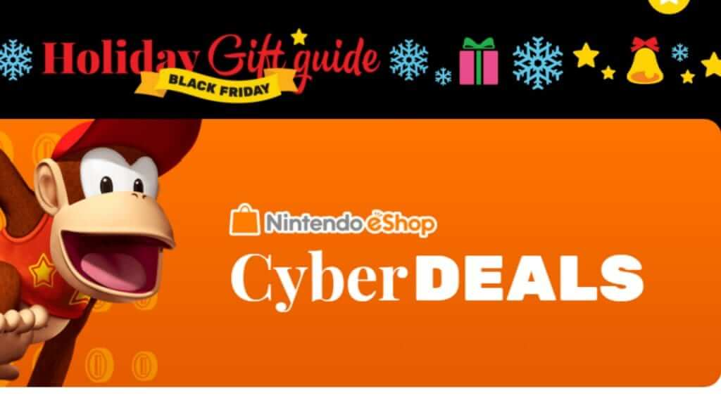 Black Friday Nintendo eShop Cyber Deals
