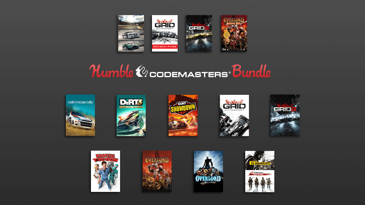 Humble Codemasters Bundle Delivers Big for Racers