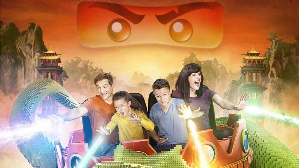 Legoland California to Feature Ninjago Ride