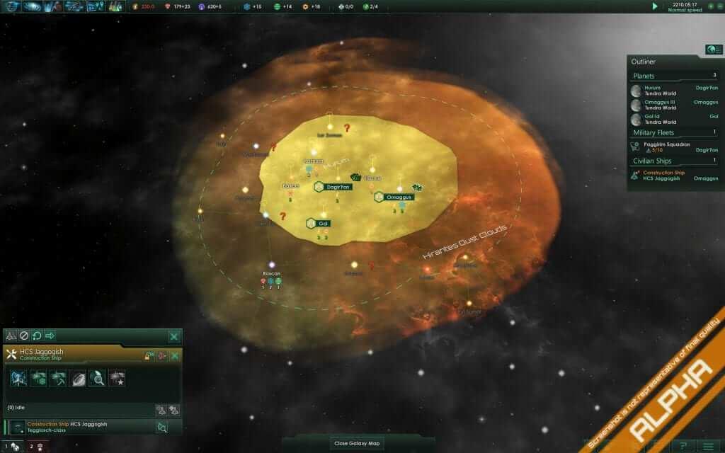 Stellaris Developer Diary #9: Planets & Resources
