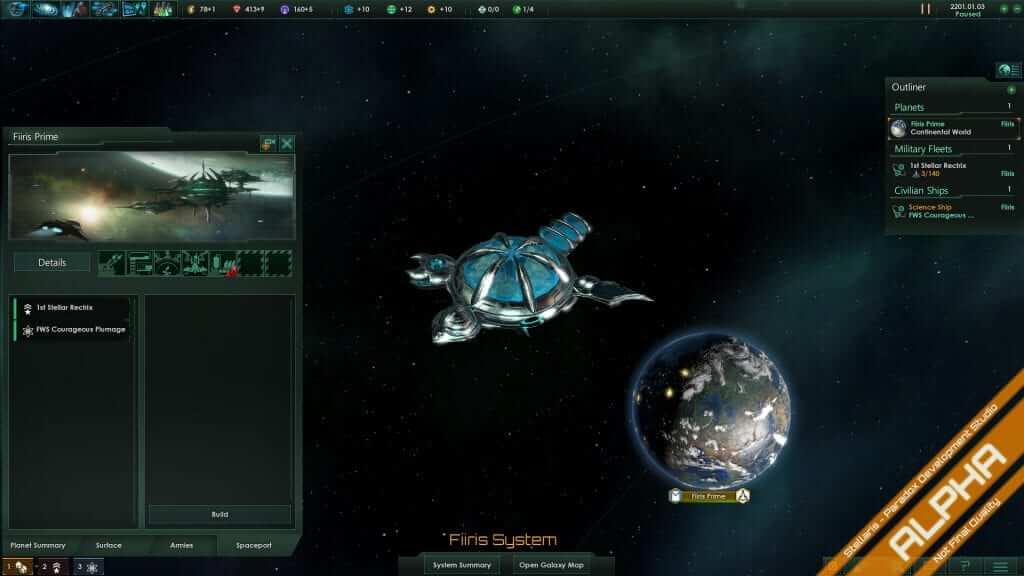 Stellaris Developer Diary #10: Spaceport and Rare Resources