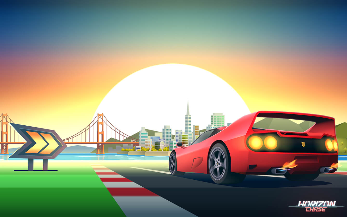 Horizon Chase Has A Secret Marriage Proposal In It