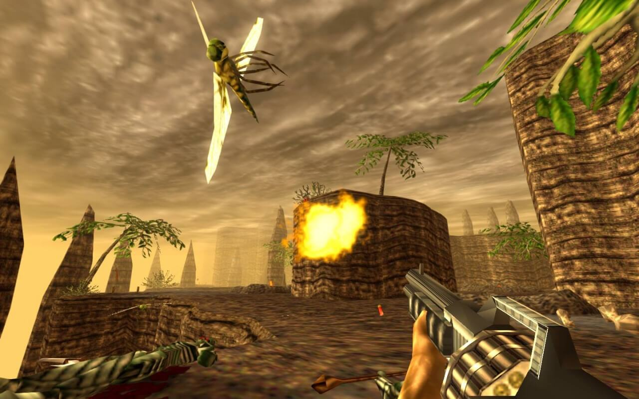 Night Dive Posts New Screenshots of 'Turok' Remaster