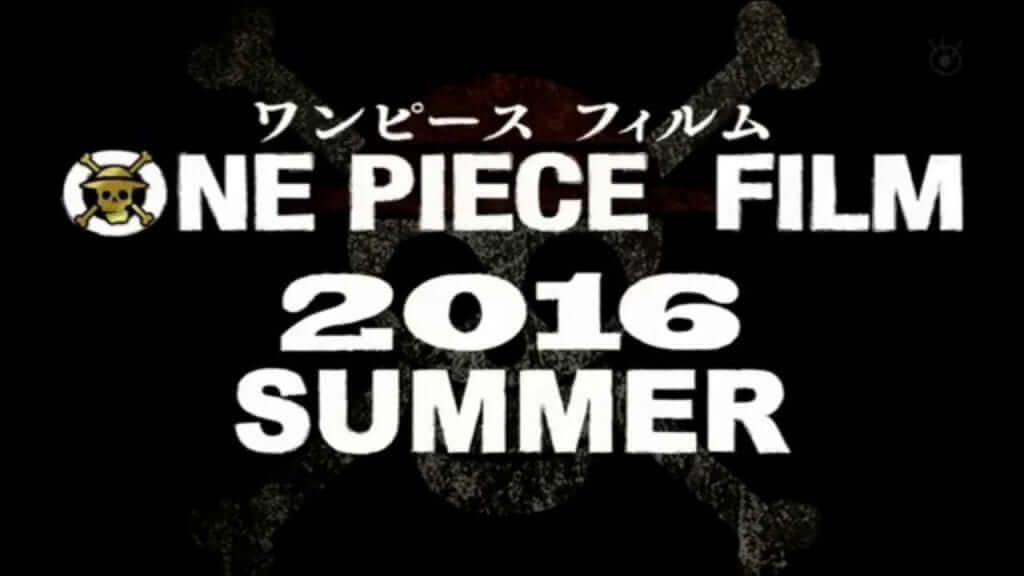 New 'One Piece' Film Set For 2016