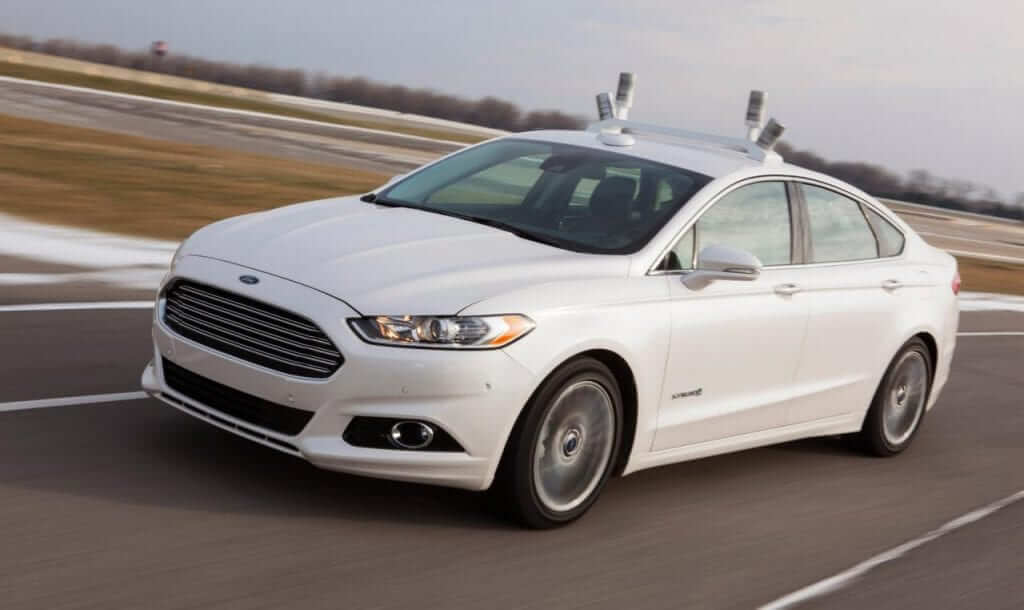 Ford to Test Self-Driving Cars in California Next Year