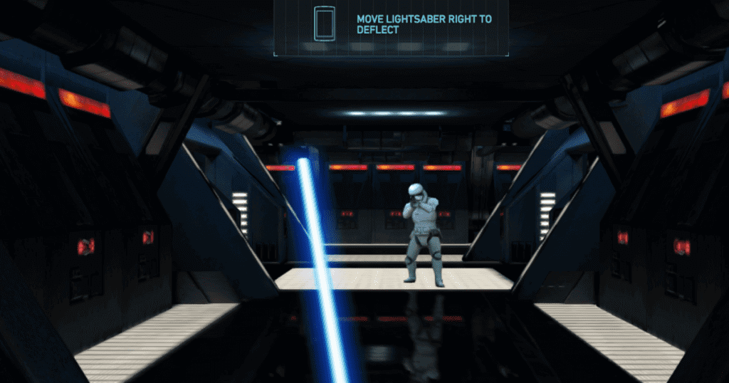 Lightsaber vs Storm Trooper