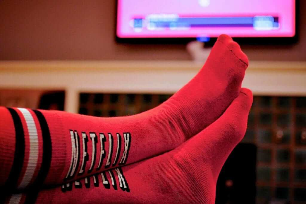 Netflix Socks: The New Pause Button