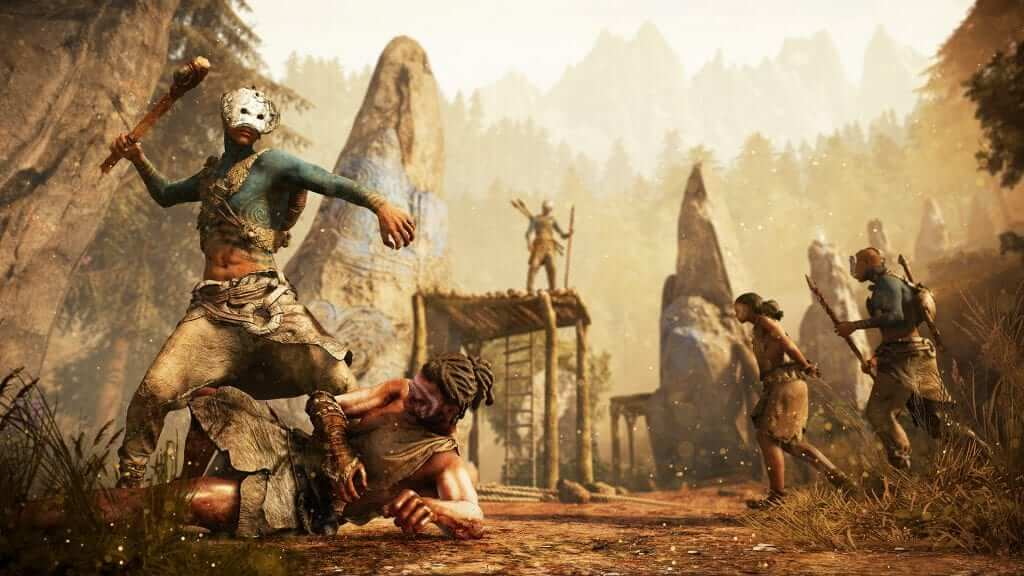 Far Cry Primal The Stone Age Looks Savage In Far Cry Primal