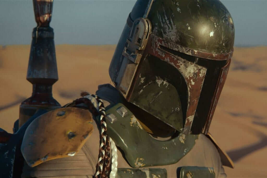 Boba Fett upper torso in mandalorian armor from return of the jedi