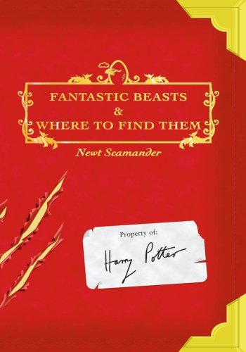 Book cover for Fantastic Beasts and Where to Find Them