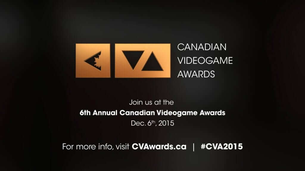 Canadian Videogame Awards Crown 2015 Winners