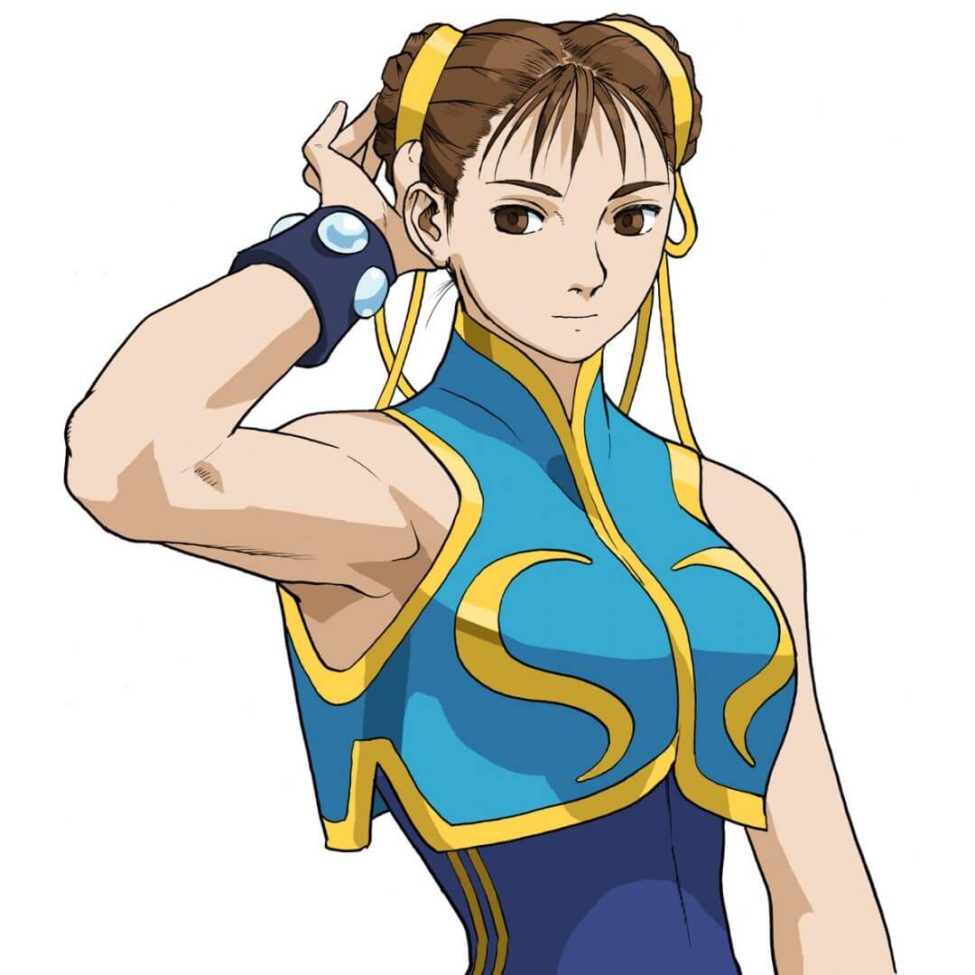 characters - The First LAdy of Fighting Games made this list without question