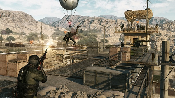 Metal Gear Online - Jump in and create memorable moments.