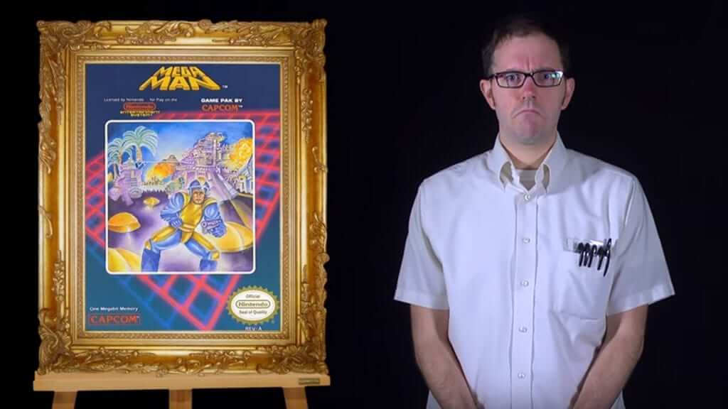 Angry Video Game Nerd Art Advent Calendar