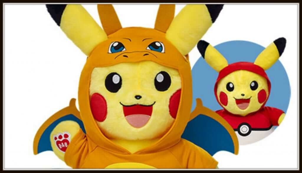 Build-A-Bear Pikachu Is Available For Pre-Order