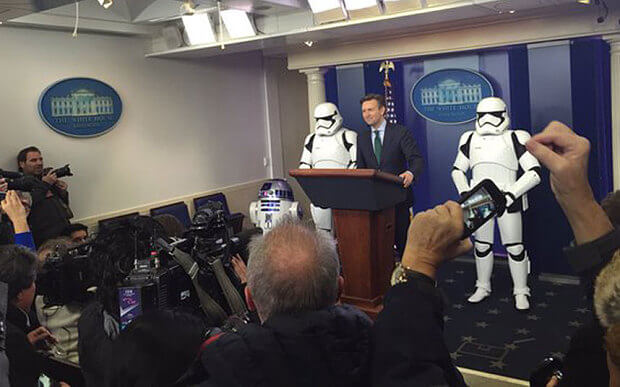 Storm Troopers Press Conference