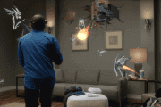 Netflix And Halo 5 On Hololens