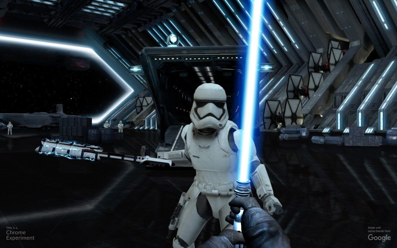Google Releases Lightsaber Escape Mini-Game