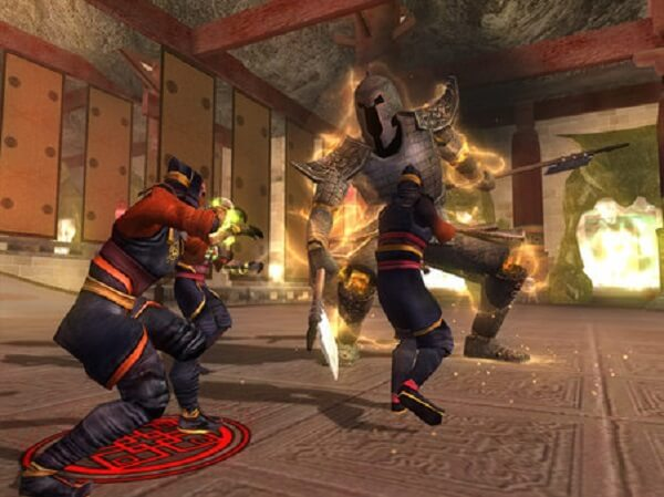 Fight against Chinese myths and legends in Jade Empire