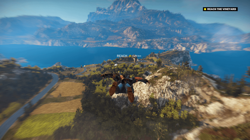 Gliding in Just Cause 3
