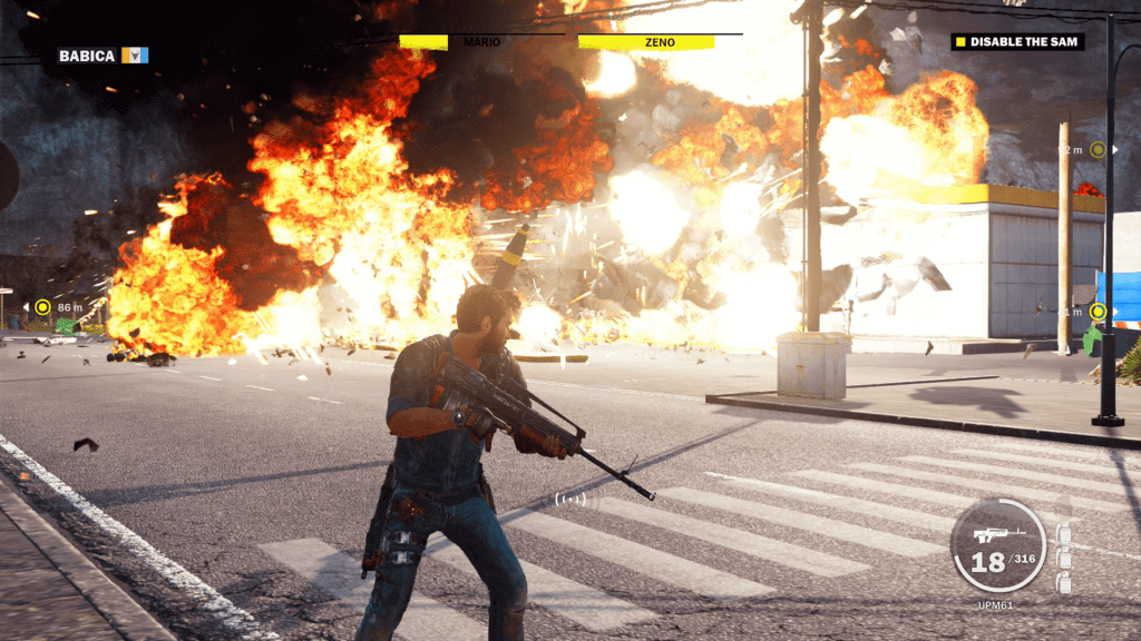 Just Cause 3 fuel explosion