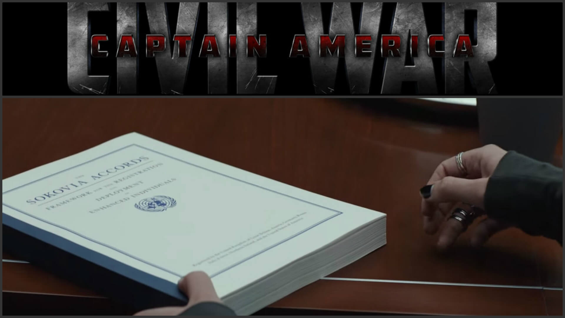 Captain America: Civil War Sokovia Accords Revealed