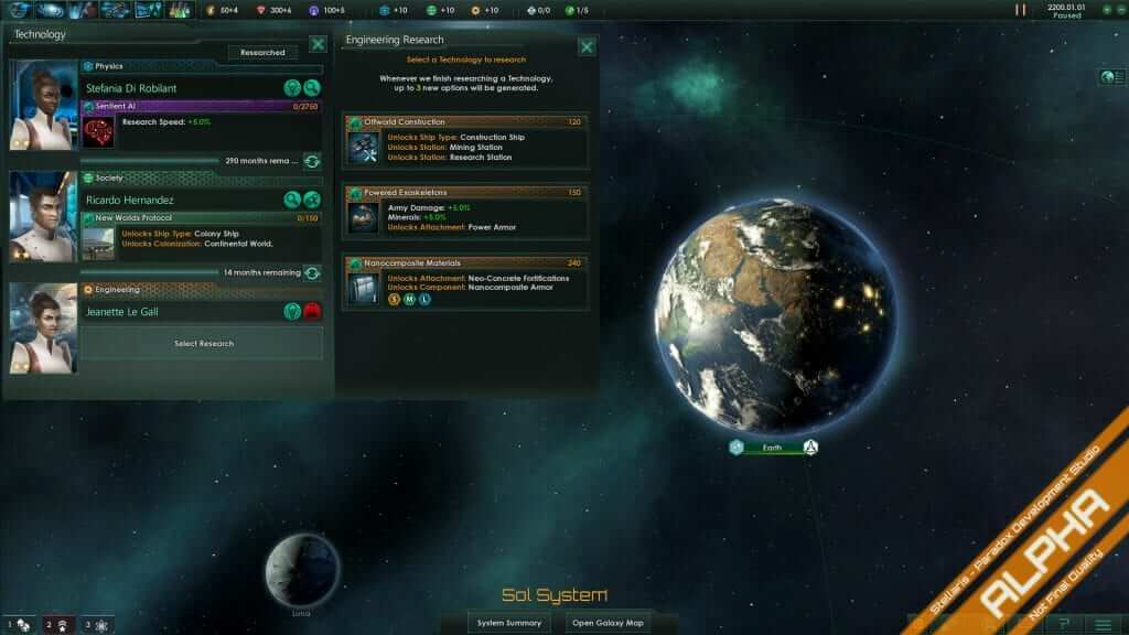 Stellaris Developer Diary #11: Research & Technology