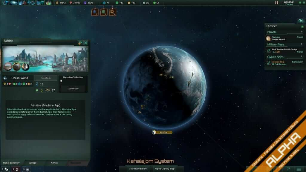 Stellaris Development Diary #13: Primitive Civilizations