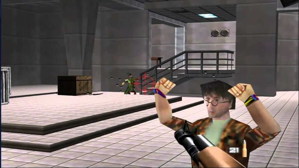As Great As The Game Was... The Graphics Have Not Aged Well! Goldeneye