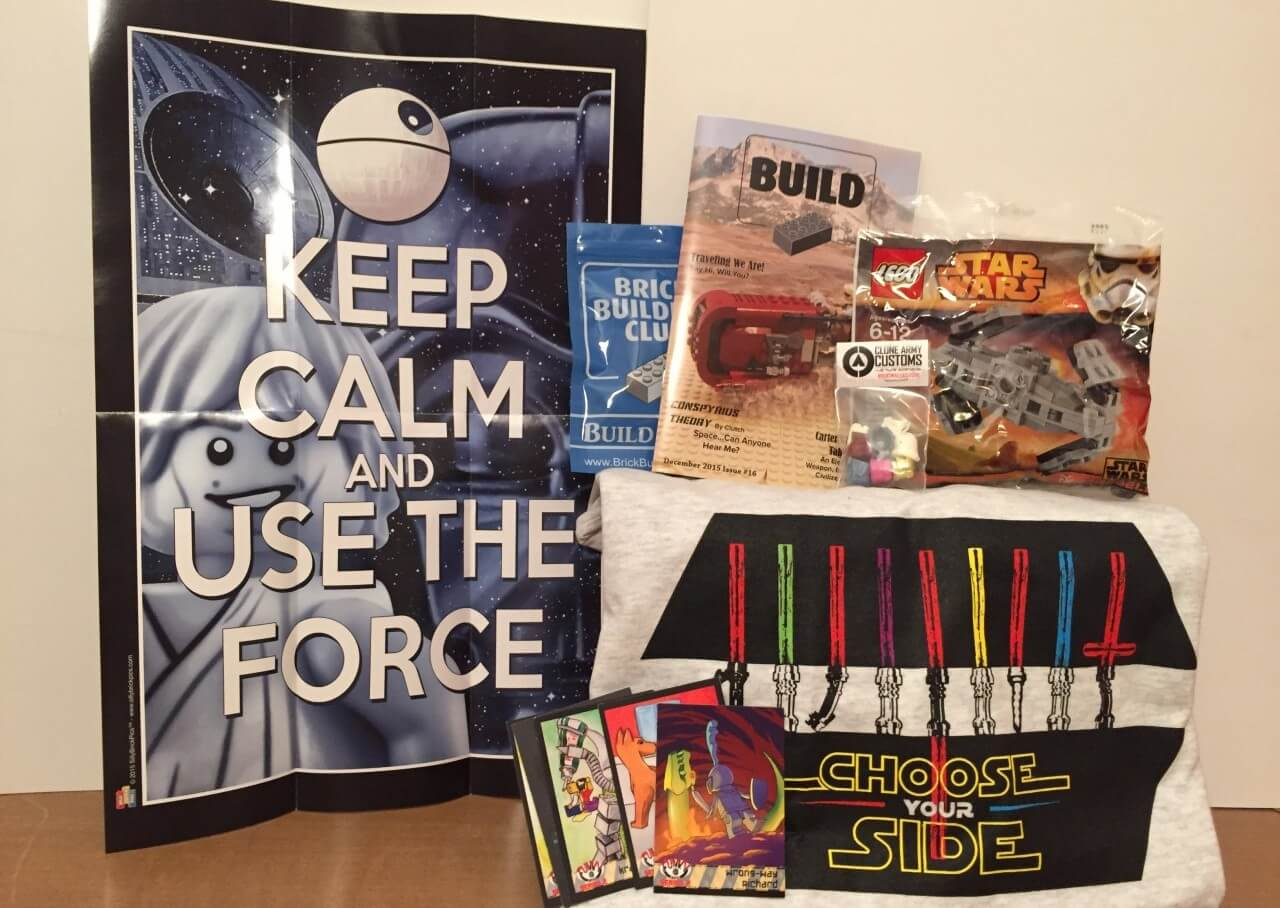 Brick Builders Club:  December 2015 Review