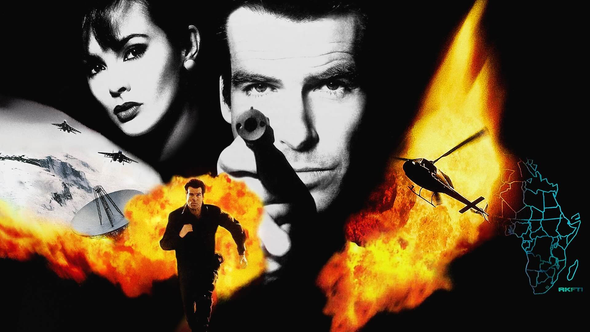 Goldeneye Running in Unreal Engine 4