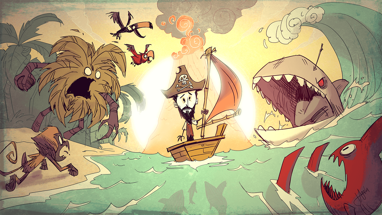 Don't Starve: Shipwrecked Update Plans Announced