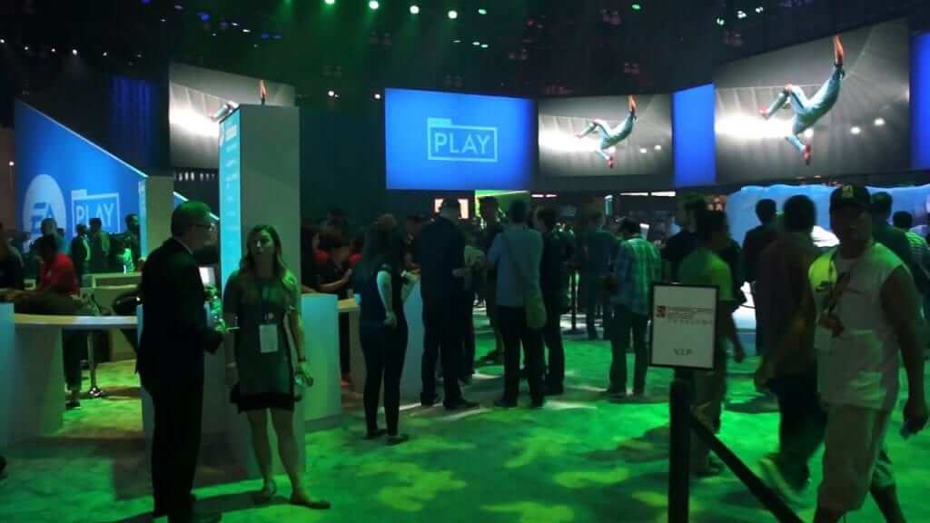 Wonder who'll step in to fill up all that space. Sony is a likely candidate in order to show off their VR tech.