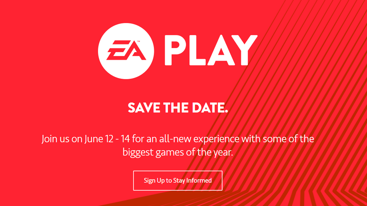 Electronic Arts Will Not Attend E3 This Year