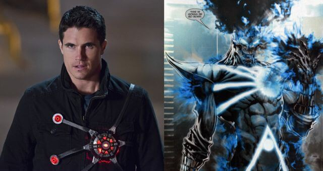 Robbie Amell Firestorm and Deathstorm